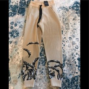 Baja East Luxe Lounge Pants Sweats